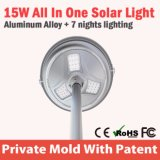 Grande alto lumen tutto in un indicatore luminoso solare per uso esterno 100W
