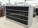 China Factory Supply Rectangle Shanxi Black 36 Niche Columbarium Wall pour les jardins du cimetière
