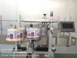 Máquina de etiquetado redonda del compartimiento de la etiqueta engomada automática