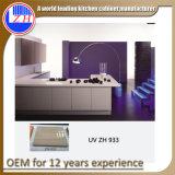Австралия стандартных Домашняя мебель современного high gloss UV mdf деревянные кухонные шкафа электроавтоматики