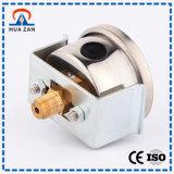 Montaggio a pannello personalizzato Air Manometro Fornitore di pressione d'aria in Pascal