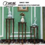 Estantes de flores de madera estilo americano para muebles de casa (AS812)