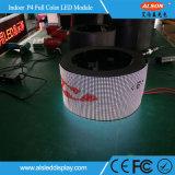 FCC와 가진 P4mm 유연하고 연약한 LED 영상 벽 모듈