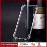 Anti-Slip Clear TPU Mobile Case para Huawei Honor V8 V9
