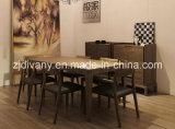 Итальянский самомоднейший стул места кожи деревянной рамки типа (C-22 & C-23)