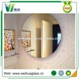 Miroir décoratif en verre ovale de salle de bains avec la lumière