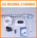 aumentador de presión móvil /Repeater de la señal del teléfono celular del amplificador WCDMA 3G de la señal 2100MHz