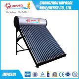 Calefator de água solar da pressão de câmara de ar de vácuo da tubulação de calor para a HOME