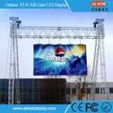 Farbenreiche LED Anschlagtafel des Pixel-P3.91 im Freiendes stadiums-für das Bekanntmachen