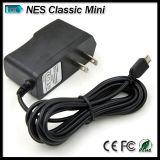 Alimentazione elettrica dell'adattatore del caricatore di CA per edizione classica della Nintendo Nes la mini
