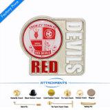 Kundenspezifische Decklack-Basketball-Medaille mit gedruckt auf Lager in Dubai