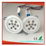 Dimmable 27W COB LED encastré Downlight