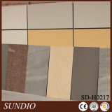 Mattonelle beige della porcellana di serie della pietra della sabbia dell'Australia di colore per il rivestimento della parete esterna