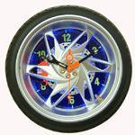 LEDライト(JT2416)が付いているオートバイのタイヤの時計