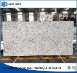 SGSのレポート(大理石カラー)を用いる台所カウンタートップの建築材料のための人工的な石造りの水晶平板