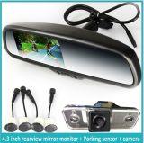Car nero Rear View Mirror con Car Camera e Automatico-Dimming (EK-043LADT)