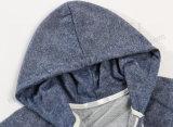 Los hombres adelgazan básico del raglán con capucha en ropa deportiva Fw-8806