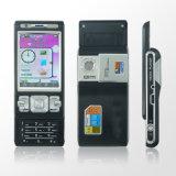 Mobiele telefoon met quadband-tv (T900+mobiele telefoon)
