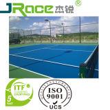 Silicio profesional PU nivelador de deportes de pista de tenis