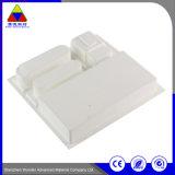 Imballaggio di plastica della copertura superiore del cassetto di memoria della bolla dell'animale domestico bianco