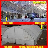 2018 بيضاء مضلّع سقف فسطاط خيمة لأنّ تموين 300 الناس [ستر] ضيف