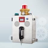 Sistema de alarma antiexplosión de la seguridad del teléfono Knzd-41 de la caja de la aleación de aluminio