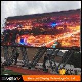 I prezzi P3.91 P4.81 dello schermo di visualizzazione del LED di pubblicità esterna con il Governo dell'alluminio della pressofusione
