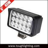 """indicatori luminosi del lavoro di rettangolo 45W LED di illuminazione fuori strada 6 della jeep di 4WD SUV """""""