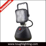15W 자석 기초를 가진 휴대용 재충전용 LED 일 빛