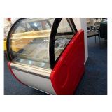 Congelador automático del helado del refrigerador de la fuente de la fábrica