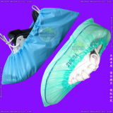 Surgical 또는 Medical/Hospital/Plastic/Polyethylene/Poly/HDPE/LDPE/PP+PE/PP/SMS/Polypropylene 방수 Nonwoven Disposable PE Shoe Cover, Disposable CPE Overshoes