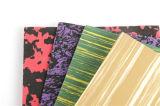 A folha colorida da espuma de EVA para o ofício caçoa a folha da espuma dos ofícios