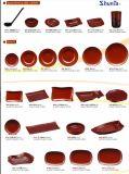 """Het Vaatwerk van de Reeks van de """" Natuurlijke Kleur """" van de melamine/Vaatwerk Dinnerset/100%Melamine"""