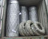 China produce Razor soldado valla de malla de alambre de púas