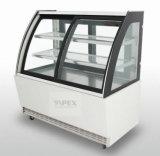 Lo stile di lusso ha refrigerato il refrigeratore della vetrina della pasticceria della visualizzazione della torta per la strumentazione del forno