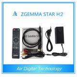2015 самый новый приемник тюнера DVB-S2+DVB-T2/T/C звезды H2 Zgemma втройне спутниковый