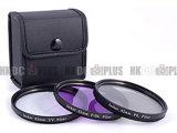 Jackar 3PCS Filter stellte ein (UV+PL+FD) (Schwarzes)