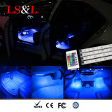 Voiture de décoration intérieure de lumière LED atmosphère voiture RVB de l'éclairage