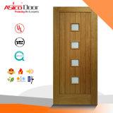 Porte en verre en bois massif salle utilisée à une bonne conception pour l'appartement