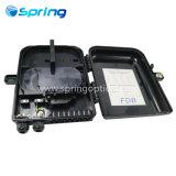 Черный цвет Sp-1606-16B Настенный кронштейн 16 основных оптических волокон в раздаточной коробке