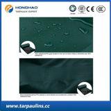 Grüne Farbe Belüftung-überzogenes wasserdichtes Plane-/Zelt-Gewebe