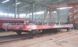 Acoplado resistente con pilas que mueve encendido el ferrocarril