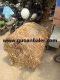 Entraîneur d'approvisionnement réutilisant la mini presse ronde de foin