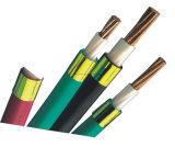 Noyau de cuivre/en aluminium, PVC a isolé et a engainé des cables électriques