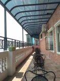 PC policarbonato/ventana/puerta insonorizadas Sol toldo la rejilla de protección contra la lluvia