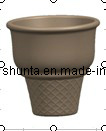 100% Melamina Tableware- cono de helado / colorido / belleza / 100% Vajilla De Melamina (QQB34)