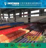 La tuile de toit vitré en plastique de la ligne de production d'Extrusion
