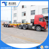 40t 40FT Recipiente do esqueleto Trailer de Arica