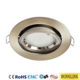 Kippbare LED beleuchtet GU10/MR16 Downlights Vorrichtungs-Lampen-Shell