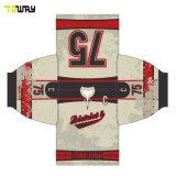 Sports Wear Sublimation personnalisé de l'équipe de hockey sur glace maillots de gardien de but